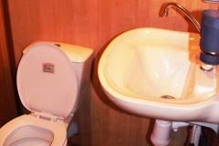 Туалет в коттедже №1